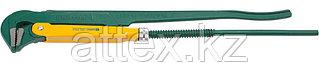 """Ключ KRAFTOOL трубный, тип """"PANZER-L"""", прямые губки, Cr-V сталь, цельнокованный, 3""""/670мм  2734-30_z01"""