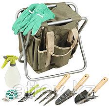 Скамейка GRINDA садовая складная, двухсторонняя, с сумкой и набором инструментов, 7предметов  8-422353-H8_z01
