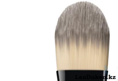 Кисть MAC для макияжа, основного тона 190, нанесение тональной основы, кремов, скрабов