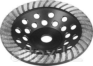 Чашка ЗУБР алмазная сегментированная, высота 22,2мм, 180мм 33371-180