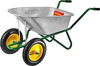 Тачка GRINDA садово-строительная двухколесная, 90 л, грузоподъемность 180 кг  422397_z01, фото 1