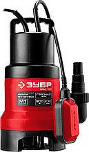 Насос погружной дренажный для загрязненной воды, ЗУБР, МАСТЕР, НПГ-М1-900 Зубр