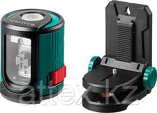 Нивелир лазерный линейный CL 20, сверхъяркий, KRAFTOOL 34700-2, держатель, 20м, IP54, точн. 0,2 мм/м