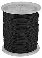 Шнур ЗУБР полиамидный, плетеный, повышенной нагрузки, без сердечника, черный, d 5, катушка 700м 50321-05-700