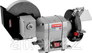 Станок точильный, ЗУБР ЗТШМ-150/200У, диски 150х20х32 мм/200х40х32 мм, 134 об/мин, 350 Вт  ЗТШМ-150/200У_z01