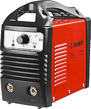 Инвертор ЗУБР сварочный, электр. 1,6-3,2 мм, А20-140, 1*220В ЗАС-140