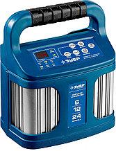 """Зарядное устройство ЗУБР """"ПРОФЕССИОНАЛ"""", 12В, 12А, автомат, IP65, AGM, GEL, WET 59305"""