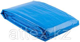 """Тент-полотно ЗУБР """"ЭКСПЕРТ"""" универс трехслойный,из тканого полимера высокой плотности 120 г/м3,с люверсами,водонепрониц,8мх12м 12552-08-12"""