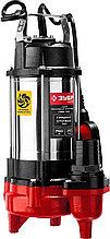 Насос фекальный погружной, ЗУБР НПФ-750, 750 Вт, пропускная способность 310 л/мин, напор 14 м, чугун