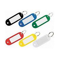 Брелок для ключей пластиковый 2х5 средние (50шт.упак.)