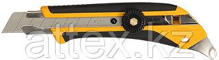 Нож OLFA, двухкомпонентный корпус, трещоточный фиксатор, 18мм OL-L-5