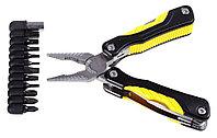"""Набор: Инструмент многофункциональный STAYER """"PROFESSIONAL"""", облегченная рукоятка, с битами, """"11 в 1  22850_z01"""