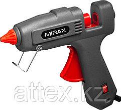 Пистолет клеевой (термоклеящий) электрический, MIRAX 06807, 200Вт/350Вт, 220В, 11мм