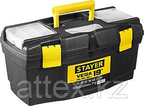 """Ящик для инструмента """"VEGA-19"""" пластиковый, STAYER  38105-18_z03"""