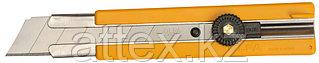 Нож OLFA с выдвижным лезвием, с резиновыми накладками, 25мм OL-H-1