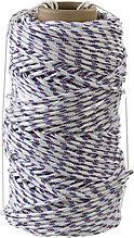 Фал плетёный полипропиленовый СИБИН 16-прядный с полипропиленовым сердечником, диаметр 6 мм, бухта 100 м, 320 кгс 50215-06