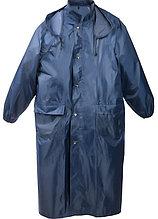 Плащ-дождевик STAYER 11612-56, нейлоновый на молнии, синий цвет, размер 56-58