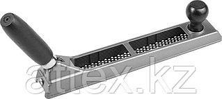 KRAFTOOL MultiRASP, 250мм, рубанок обдирочный с переставной ручкой