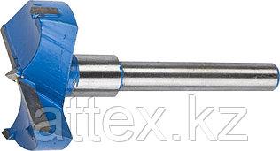 Сверло Форстнера композитное с твердосплавными резцами, ЗУБР Эксперт 29945-50, d=50мм