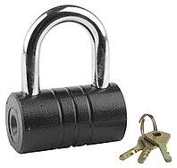 """Замок ЗУБР """"МАСТЕР"""" навесной, повышенной защищенности, дисковый механизм секрета, ключ 7 """"пинов"""", 82  3720-21_z01"""
