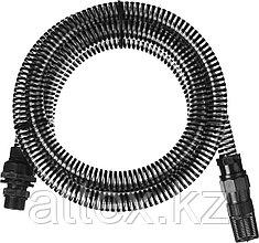 """Шланг GRINDA всасывающий, с фильтром и обратным клапаном, 1"""", 3,5м 429007-1-4"""
