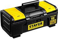 "Ящик для инструмента ""TOOLBOX-16"" пластиковый, STAYER Professional 38167-16, фото 1"
