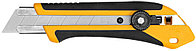 Нож OLFA с выдвижным лезвием, двухкомпонентный корпус, трещоточный фиксатор, 25мм OL-XH-1