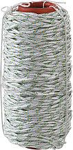 Фал плетёный капроновый СИБИН 16-прядный с капроновым сердечником, диаметр 6 мм, бухта 100 м, 650 кгс 50220-06