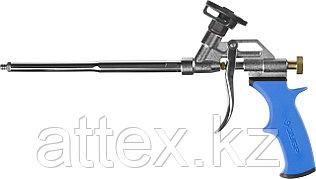 """Пистолет """"БУРАН"""" для монтажной пены, тефлоновое покрытие, ЗУБР Профессионал  06866_z01"""