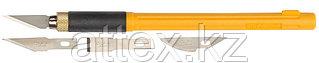 Набор OLFA Нож перовой с профильными лезвиями, 6мм, 4шт OL-AK-4