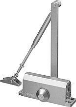 Доводчик дверной ЗУБР для дверей массой до 40 кг, цвет серебро 37910-50