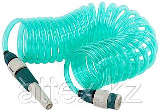 Шланг спиральный RACO для полива с наконечником и двумя внешними соединителями 4270-55895