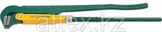 """Ключ KRAFTOOL трубный, тип """"PANZER-L"""", прямые губки, Cr-V сталь, цельнокованный, 1 1/2""""/440мм  2734-15_z01"""