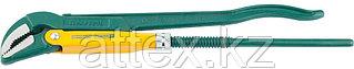 """Ключ KRAFTOOL трубный, рычажный, тип """"PANZER-V"""", изогнутые губки, цельнокованный, Cr-V сталь, 1 1/2""""  2735-15_z01"""