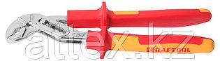 """Клещи """"ELECTRO-KRAFT"""", Cr-Mo сталь, двухкомпонентная маслобензостойкая рукоятка, хромированное покры  2202-10-25_z01"""