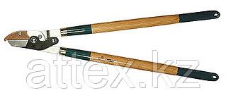Сучкорез RACO с дубовыми ручками, 2-рычажный, с упорной пластиной, рез до 40мм, 700мм 4213-53/272