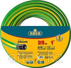 "Шланг RACO CLASSIC поливочный, 15атм., армированный, 3-х слойный, 1""х25м  40306-1-25_z01"