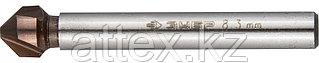 Зенкер конусный Зубр 29732-4 d 8.3х50 мм