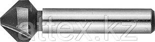 Зенкер конусный Зубр 29730-8 d 16.5х60 мм