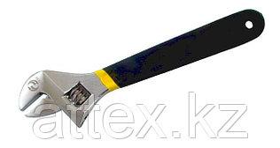 """Ключ Разводной КР-30 (250мм/10"""") хром. с полимер. покрыт. ручки, со шкалой CNIC (WT0151) 23440"""
