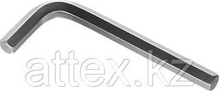"""Ключ имбусовый ЗУБР """"МАСТЕР"""", хромованадиевая сталь, хромированное покрытие, 8мм 27453-8"""