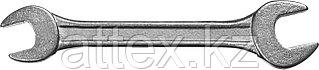 Ключ рожковый гаечный СИБИН, белый цинк, 8х10мм 27014-08-10