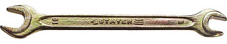 "Ключ STAYER ""MASTER"" гаечный рожковый, 8х10мм 27038-08-10"