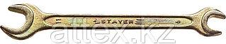"Ключ STAYER ""MASTER"" гаечный рожковый, 9х11мм 27038-09-11"