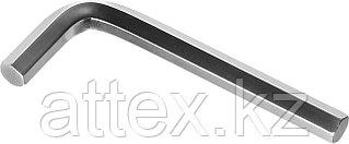 """Ключ имбусовый ЗУБР """"МАСТЕР"""", хромованадиевая сталь, хромированное покрытие, 10мм 27453-10"""