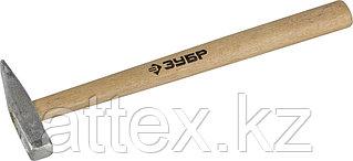 Молоток слесарный 100 г с деревянной рукояткой, тип МСЛ, ЗУБР Мастер 20015-01