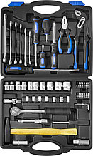 Набор слесарно-монтажного инструмента СИБИН, 56 предметов 27765-H56