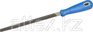 """Напильник ЗУБР """"ПРОФЕССИОНАЛ"""" трехгранный, двухкомпонентная рукоятка, № 3, 200мм 1631-20-3"""