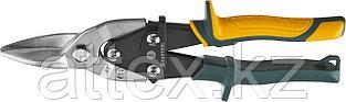 KRAFTOOL Ножницы по металлу Alligator, прямые, Cr-Mo, 260 мм 2328-S