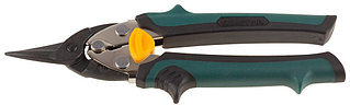 KRAFTOOL Ножницы по металлу COMPACT, Cr-Mo, компактные, прямые, 180 мм 2326-S